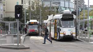 100 Domain Road Interchange Tram Route 8 And 55 Last Day Route 6 Last
