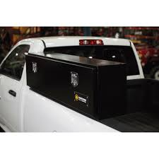 Northern Tool 60in. Locking Top-Mount Gloss Black Truck Tool Box ...
