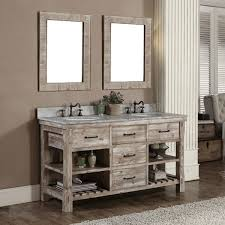 Bathroom Rustic Modern Vanities Free Standing White Porcelain Soaking Bathtub Minimalist Mirrors Decor Vessel Sink Plus