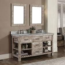 Bathroom Rustic Modern Vanities Free Standing White Porcelain Soaking Bathtub Minimalist Mirrors Decor Vessel Sink Plus