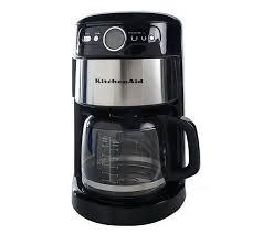 KitchenAid 14 Cup Glass Coffee Maker W Digital Display Clock