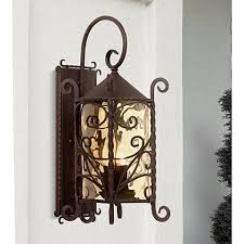 casa seville 23 3 4 high outdoor wall light 50700 ls plus