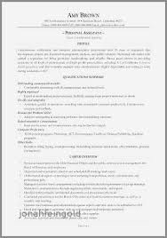 Executive Assistant Sample Resume Best Of As 30 Fresh For To Md