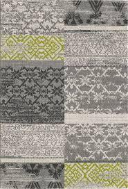 vintage flachflor designer teppich karomuster neu wohnzimmer