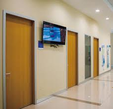 Modern Flush Clinic Door
