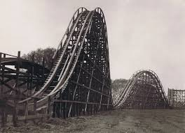Haunted Attractions In Pa Near Allentown by The Coaster At Dorney Park Allentown Pa Circa 1932 Dorney