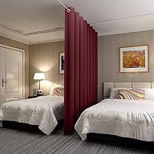 chadmade antike bronze halterungsöse paneel wandschirm raumteiler vorhang in grün 152b x 274h für schlafzimmer apartment aufbewahrung studio