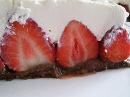 nutellakuchen mit erdbeeren ohne backen