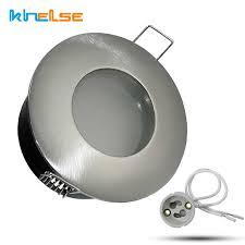 einbau wasserdichte ip65 decke downlight rahmen halterung kits gu10 mr16 runde platz badezimmer decke le basis fitting leuchten