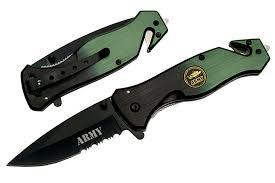 couteau army tactique militaire se566ar couteau pliant