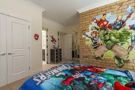 Vivacious Kids Rooms With Brick Walls Full Of Personality Wall Designs For Boy