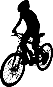 Bicycle Ride Silhouette Side View Png Clipart Bike Transparent Background