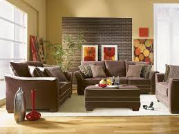 Decorating With Brown Couches by Living Room Transitional Living Room Ideas With White Fur Rug