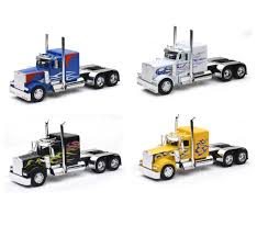 100 Diecast Promotions Trucks Long Haul Trucker NewRay Toys CA Inc