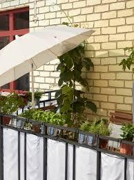 ein sichtschutz für mehr privatsphäre auf dem balkon ikea