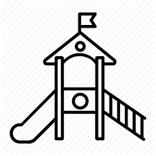 Jpg Transparent Library Playground Clipart Black And White Slide Drawing At Getdrawings