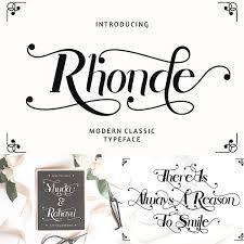 Rhonde Modern Classic Font Free download