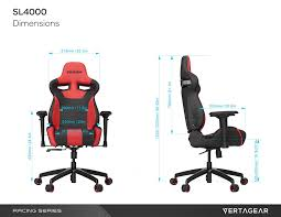 100 Gaming Chairs For S Vertagear Racing Eries Line L4000 Chair Review