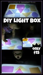 diy light box endless ways to investigate play and explore