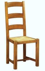 chaise en ch ne massif ebénisterie boursin frères chaises rustiques
