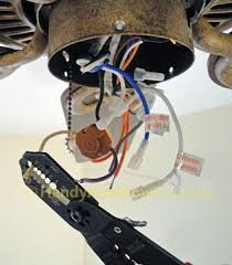 Honeywell Ceiling Fan Remote Not Working by How To Replace A Ceiling Fan Motor Capacitor