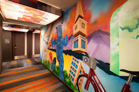 Denver International Airport Murals Location by Hotel Aloft Denver Downtown Co Booking Com