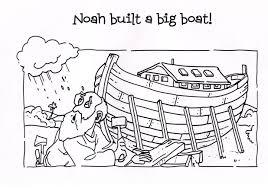Noah Coloring Page Printable Free 6510