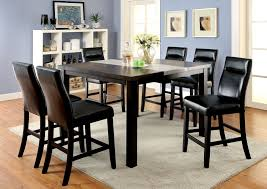 Cheap Kitchen Table Sets Free Shipping by Buy Furniture Of America Cm3416pt Set Leonard Ii Counter Height