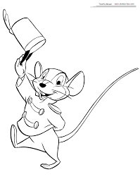 Dumbo Coloring Pages 2