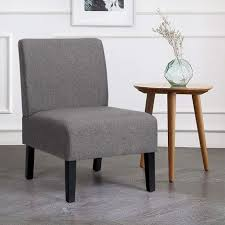 costway loungesessel mit hozbeinen polsterstuhl ohrensessel clubsessel lesestuhl couchsessel cocktailsessel ideal fuer wohnzimmer und schlafzimmer
