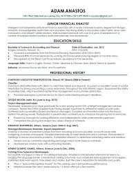 Resume Recent Grad