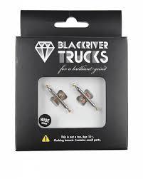 Blackriver Super Silver Wide 2.0 Fingerboard Trucks - 32mm ...