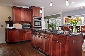 Painting Wood Kitchen Cabinets Ideas What Paint Colors Look Best With Cherry Cabinets