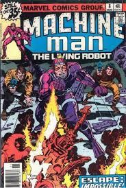 Machine Man Volume