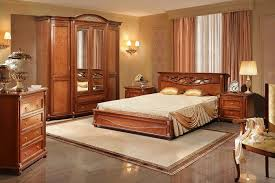 valencia landhausstil schlafzimmer komplett set massivholz kastanienfarbe