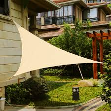 LyShade 12' Triangle Sun Shade Sail Canopy - UV Block Patio Lawn ... Quictent 121820 Ft Triangle Sun Shade Sail Patio Pool Top Canopy Stand Alone Awning Photos Sails Commercial Umbrellas Carports Canvas Garden Shades Full Amazoncom 20 X 16 Ft Rectangle This Is A Creative Use Of Awnings For Best 25 Retractable Awning Ideas On Pinterest Covering Fort 4 Chrissmith Walmart Ideas Canopies Lyshade 12 Uv Block Lawn Products In Arizona