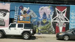 Deep Ellum Dallas Murals by New Mural Brings Sports History To Deep Ellum Youtube