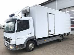 100 Used Box Trucks MERCEDESBENZ Atego 815 Closed Box Trucks For Sale From Finland Buy