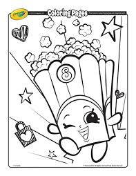 Shopkins Coloring Page Free PagesKids