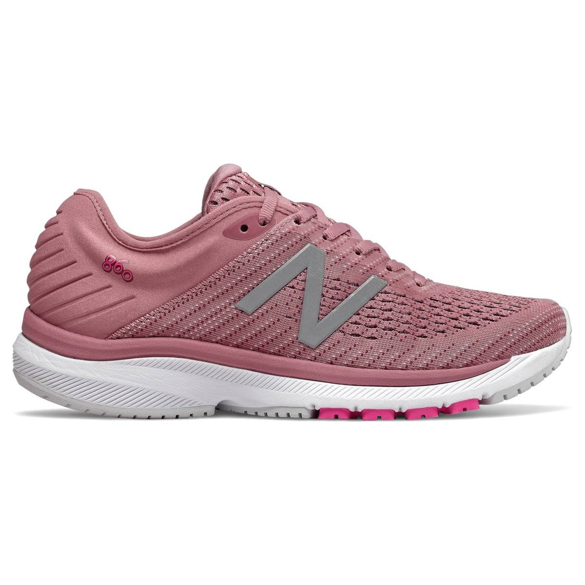 New Balance 860v10 Women's Running Shoe - Pink - 8.5