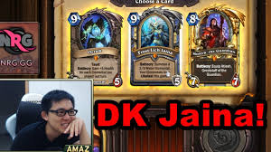 hearthstone amaz run arena as mage with death knight hero youtube