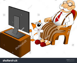 Old Man Rocking Chair Watching TV Stock Vector (Royalty Free ... Old Man Sitting In Rocking Chair And Newspaper Vector Image Vertical View Of An Old Cuban On His Veranda A A Young Is Theory Fact Ew Howe Kursi Man Rocking Chair Watching Tv Stock Royalty Free Clipart Image Collection Hickory Porch For Sale At 1stdibs Drawing Getdrawingscom For Personal Use Clipart In Art More Images The Who Falls Asleep At By Ahmet Kamil Kele Rocking Chair Genuine Old Antique Farnworth