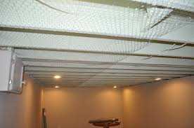 Unfinished Basement Ceiling Paint Ideas by Painted Basement Ceiling Basement Ceiling Painted Blacktop 25