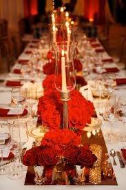Using A Red Color Scheme For Wedding