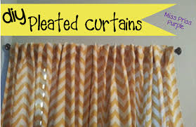 Sewing Curtains For Traverse Rods by How To Make Pleated Curtains Home Design Ideas And Pictures