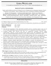 Medical Office Manager Resume Elegant Gallery Of Examples Resumes Best