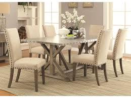 Coaster Table 40x84 Trestle Metal Top Webber 942892