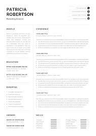 Professional 1 Page Resume Template | Modern One Page CV ... Ppt Resume Current Job Present Tense 42mb Template In Navy Blue By Templates On Dribbble Present Tense Ing Verbs With Worksheet Writing A Past Or Best Create 08 Quiz Robin Rodin And Cover Letter Professional 1 Page Modern One Cv Should Be In Consulting Resume What Recruiters Really Want How To What Is A Transforming Your Into