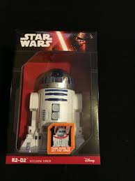 wars kitchen timer r2 d2 countdown with rotating