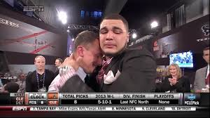 100 Buccaneer Truck Stuff Mike Evans Gets A Big Hug From Johnny Manziel After Evans Drafted By
